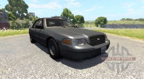 Ford Crown Victoria 1999 v2.0 for BeamNG Drive