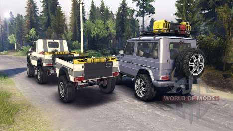 Mercedes-Benz G320 for Spin Tires