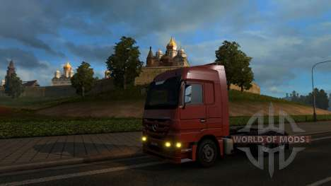 Map Of Russia - RusMap for Euro Truck Simulator 2
