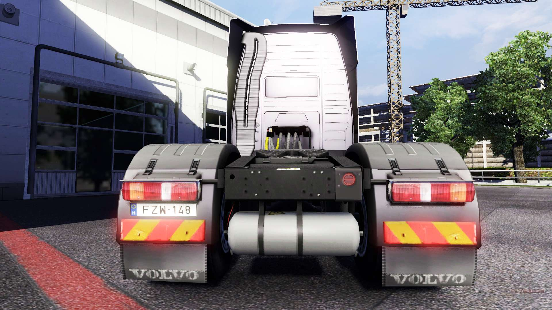 Semi Truck Mud Flaps >> New lights and mud flaps at Volvo for Euro Truck Simulator 2