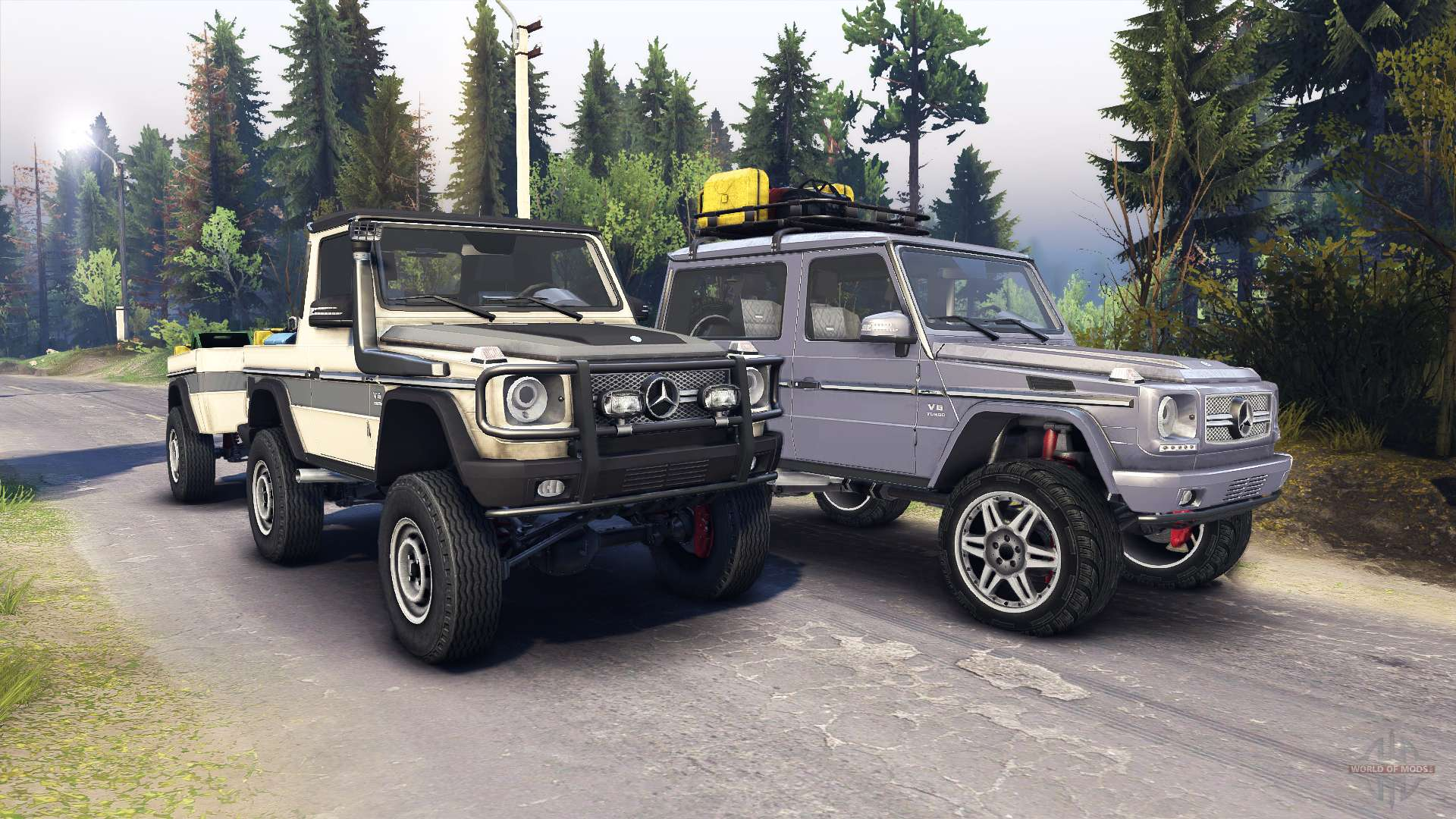Mercedes benz g320 for spin tires for Mercedes benz tire