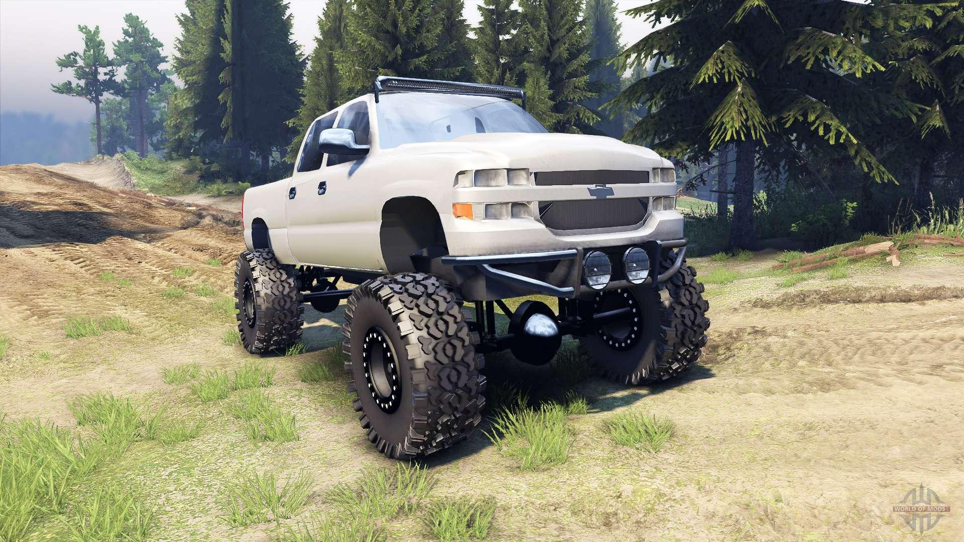 Chevrolet Silverado 2500 Duramax V1 1 For Spin Tires