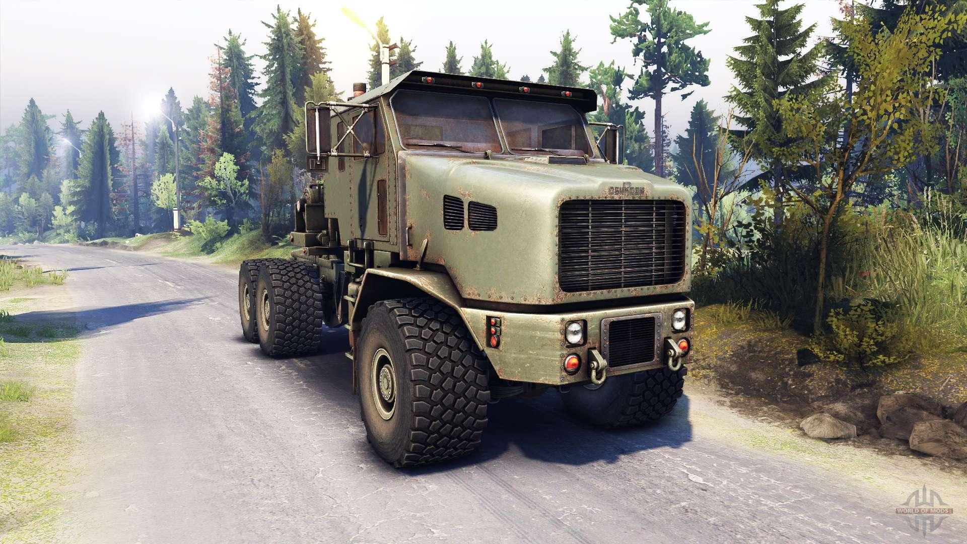 Oshkosh M1070 Interior Oshkosh M1070 Het For Spin