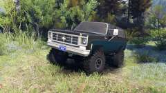Chevrolet K5 Blazer 1975 black and blue