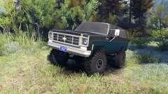 Chevrolet K5 Blazer 1975 black and blue