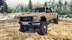 GMC Suburban 1995 Crew Cab Dually tan