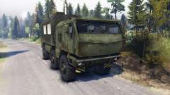 KAMAZ Typhoon 6x6 truck