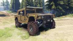 Hummer H1 army green