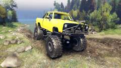 Dodge D200 yellow