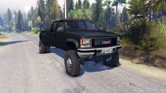 GMC Suburban 1995 Crew Cab Dually black