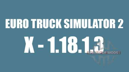Patch 1.8.1.3 for Euro Truck Simulator 2