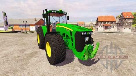 John Deere 8530 v5.0 for Farming Simulator 2013