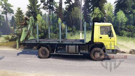 Volvo FL7 for Spin Tires