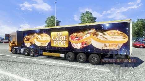 Semi-Carte Dor for Euro Truck Simulator 2