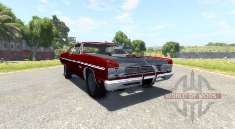 Plymouth Fury III 1969 for BeamNG Drive