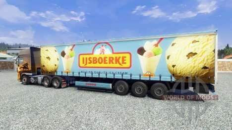 Semi Ijsboerke for Euro Truck Simulator 2