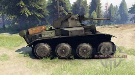Mark VII Tetrarch (A17) for Spin Tires