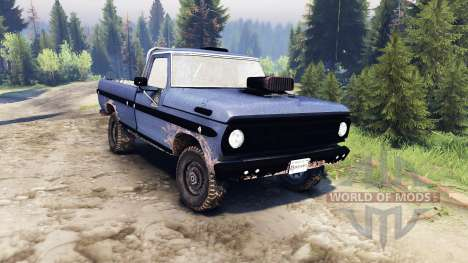 Ford F-100 custom PJ4 for Spin Tires
