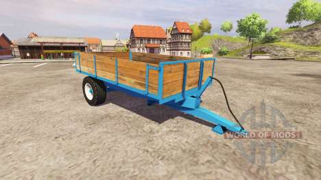 Single axle tipper trailer for Farming Simulator 2013