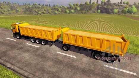 Scania P380 v2.0 for Farming Simulator 2013