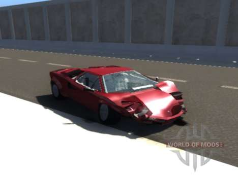 Lamborghini Countach for BeamNG Drive