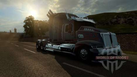 Optimus Prime from transformers 4 for Euro Truck Simulator 2