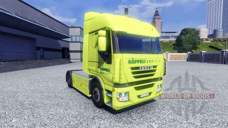 Skin Kappeli Logistik for Iveco tractor unit for Euro Truck Simulator 2