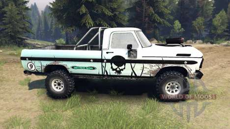 Ford F-100 custom PJ1 for Spin Tires