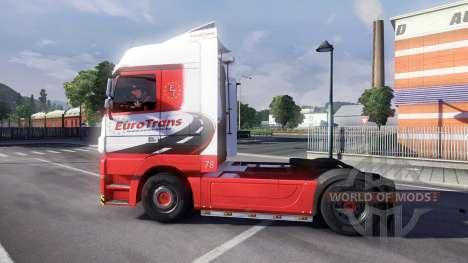 Mercedes-Benz Actros EuroTrans for Euro Truck Simulator 2