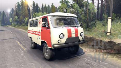 UAZ-3962 for Spin Tires