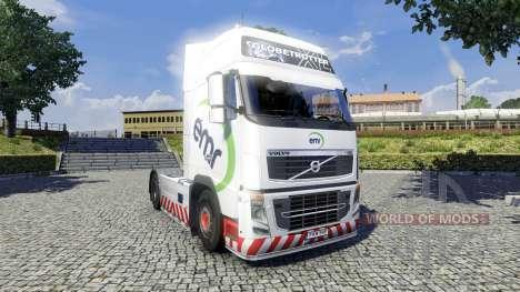 Skin EMR for Volvo truck for Euro Truck Simulator 2