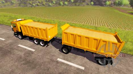 Scania P380 for Farming Simulator 2013