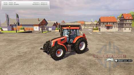 The engine speed limiter for Farming Simulator 2013