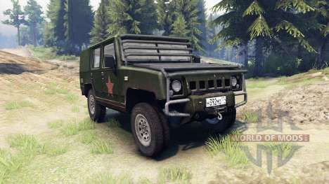 BAW Brave Warrior v1.1 for Spin Tires