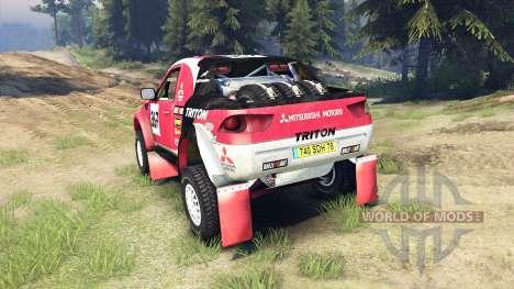Mitsubishi L200 Triton for Spin Tires