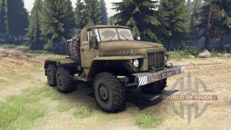 Ural-380 C. for Spin Tires
