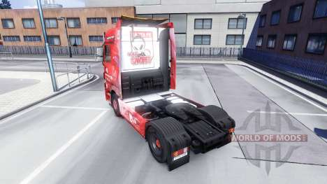 The skin Santa Fe, Colombia on the tractor Majes for Euro Truck Simulator 2