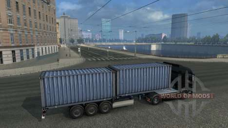 Connecting of maps: TSM, RusMap and Open Spaces for Euro Truck Simulator 2