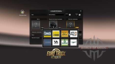 Passenger transportation for Euro Truck Simulator 2