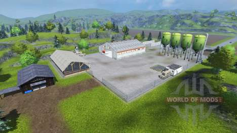 Stiffi Map v2.0 for Farming Simulator 2013