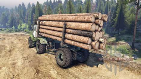 T-150K timber for Spin Tires