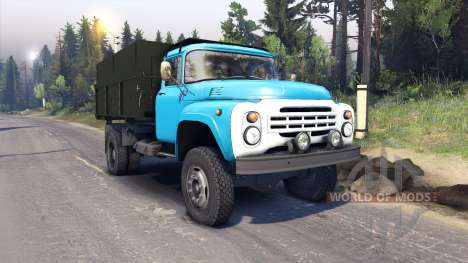 ZIL-130 for Spin Tires