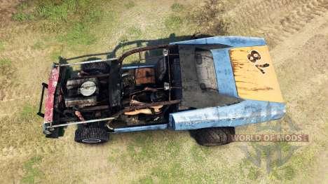 Dodge HL2 blue for Spin Tires