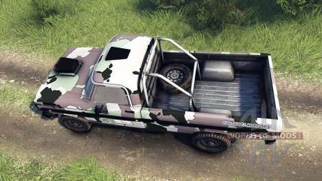 Ford F-100 custom PJ3 for Spin Tires