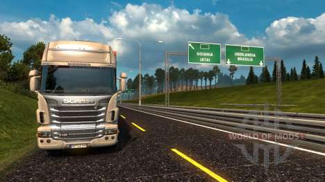 Mapa Brasil Total 4.2 [TRUCK VERSION] for Euro Truck Simulator 2