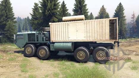 Oshkosh HEMTT for Spin Tires