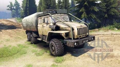 Ural-4320-1982-40 for Spin Tires