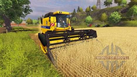 New Holland TC5070 v1.3 for Farming Simulator 2013