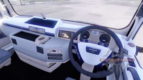 New interior tractors MAN for Euro Truck Simulator 2