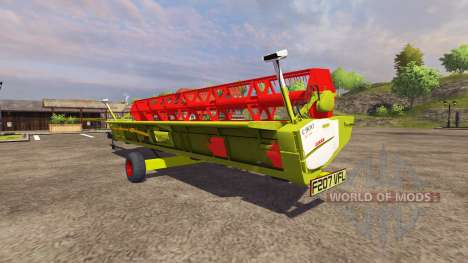 Trailer for harvester CLAAS for Farming Simulator 2013